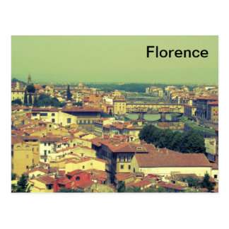 Puente de la opinión de Florencia del oro/del Postal
