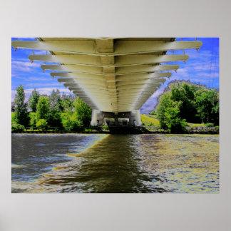 Puente de la playa de Sunnyside - sensación de las Impresiones