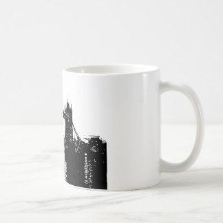 Puente de la torre de Londres del arte pop Taza