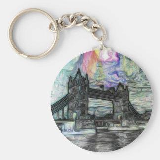 puente de la torre de Londres Llaveros Personalizados