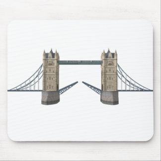 Puente de la torre de Londres modelo 3D Alfombrillas De Raton