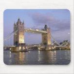 Puente de la torre de Londres Mousepad Tapetes De Ratón