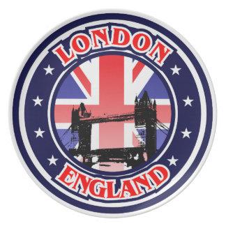 Puente de la torre de Londres Platos