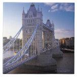 Puente de la torre en Londres Azulejo