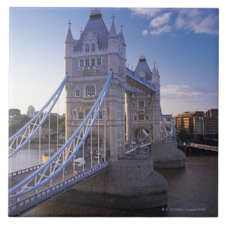 Puente de la torre en Londres Azulejo Cuadrado Grande
