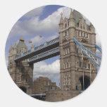 Puente de la torre en Londres Inglaterra Pegatinas