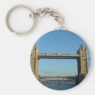 Puente de la torre en Londres sobre el río Támesis Llaveros