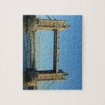 Puente de la torre en Londres sobre el río Támesis Puzzle