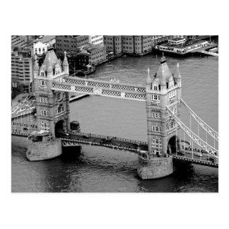 Puente de la torre en Londres Tarjeta Postal
