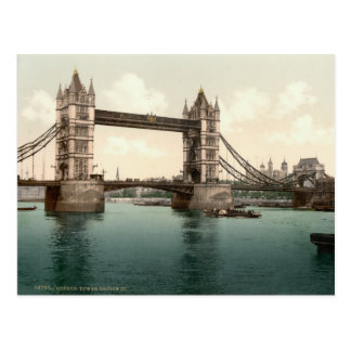Puente de la torre, Londres c.1895 Tarjetas Postales