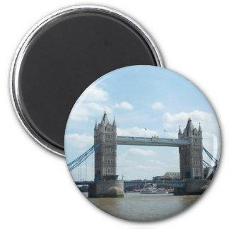 Puente de la torre, Londres Imán Redondo 5 Cm