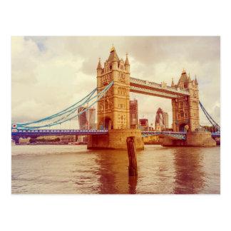 Puente de la torre, Londres, Inglaterra, Reino Postal