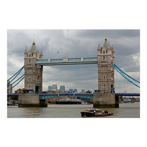 Puente de la torre, Londres Póster