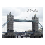 Puente de la torre--Londres Tarjeta Postal