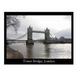 Puente de la torre, Londres Tarjeta Postal