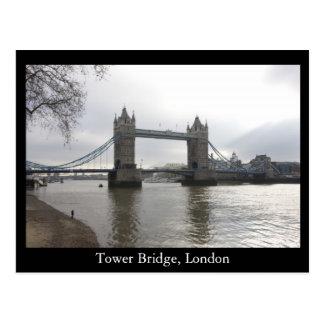 Puente de la torre Londres Tarjeta Postal