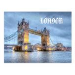 Puente de la torre, postal de Londres