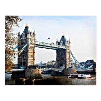 Puente de la torre postales