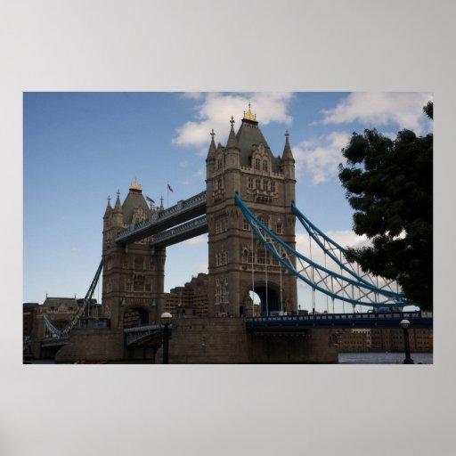 Puente de la torre póster