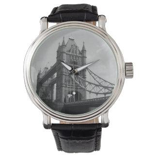 Puente de la torre - reloj de Londres