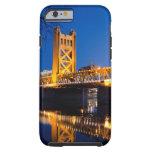 Puente de la torre - Sacramento, CA Funda De iPhone 6 Tough