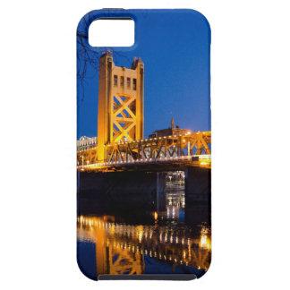 Puente de la torre - Sacramento, CA iPhone 5 Fundas