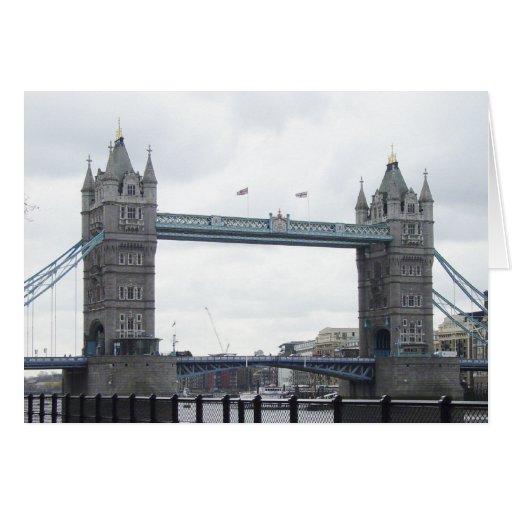 Puente de la torre tarjeta