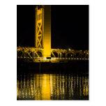 Puente de la torre tarjeta postal