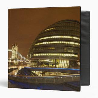 """Puente de la torre, y autoridad de mayor Londres Carpeta 1 1/2"""""""