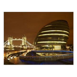 Puente de la torre, y autoridad de mayor Londres Postales