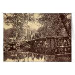 Puente de la unión, río de Chickahominy, Virginia Felicitación