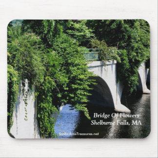 Puente de las caídas mA Mousepad de Shelburne de l Alfombrillas De Raton