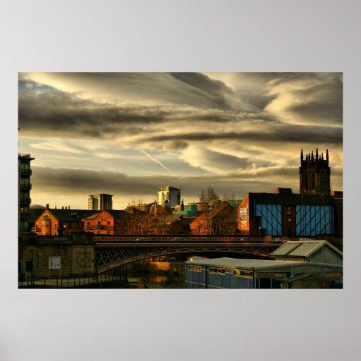 Puente de Leeds Poster