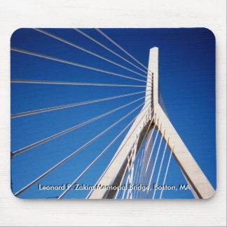 Puente de Leonard P. Zakim Memorial Alfombrilla De Ratones