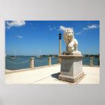 Puente de leones póster