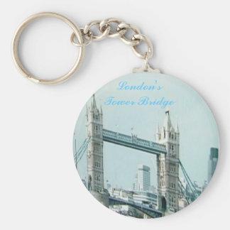 Puente de London sTower Llaveros Personalizados