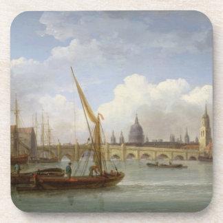 Puente de Londres, con la catedral de San Pablo en Posavasos De Bebida