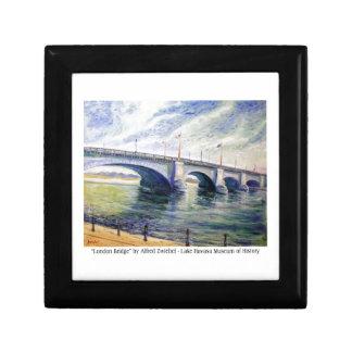 Puente de Londres de Alfred Zwiebel Caja De Joyas
