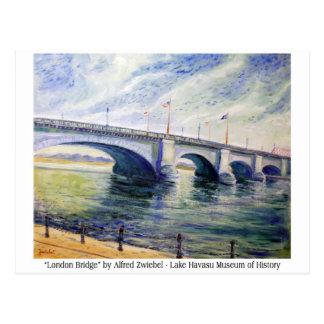 Puente de Londres de Alfred Zwiebel Tarjetas Postales