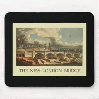 Puente de Londres del vintage Tapetes De Ratones