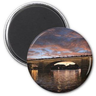 Puente de Londres Imán Redondo 5 Cm
