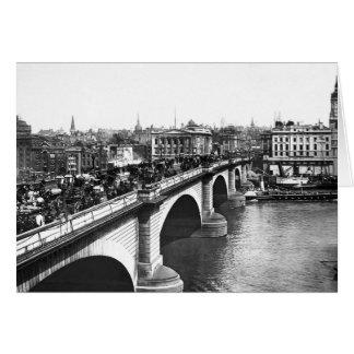 Puente de Londres Tarjeta De Felicitación