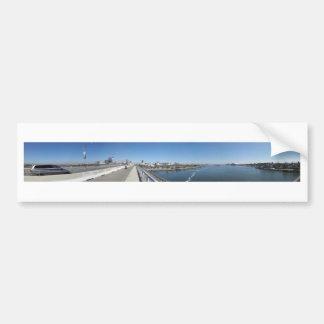 Puente de Long Beach Queensway Pegatina Para Auto