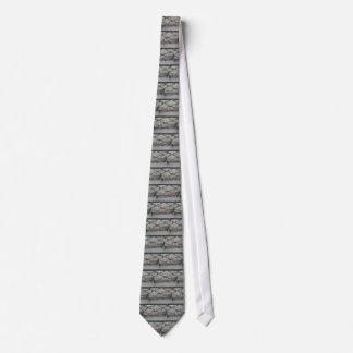 Puente de los amantes - cerraduras del amor de corbatas personalizadas