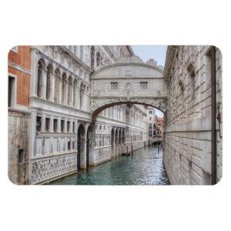 Puente de los suspiros Venecia Italia Imán Rectangular