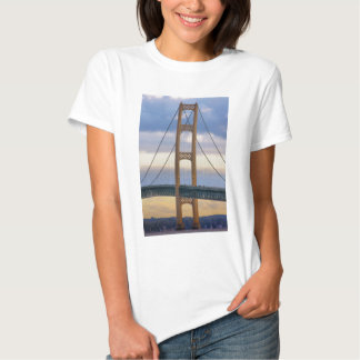 Puente de Mackinac 1083 Playera