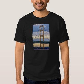 Puente de Mackinac 1083 Playeras