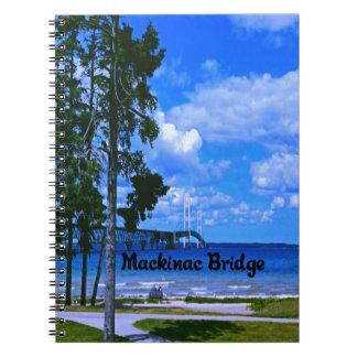 Puente de Mackinac Cuaderno
