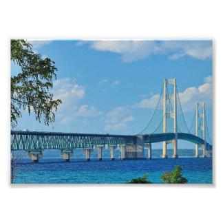 Puente de Mackinac de la impresión Fotografías