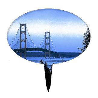 Puente de Mackinac Decoración Para Tarta